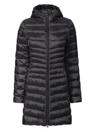 Удлиненная демисезонная куртка черного цвета esmara (германия)