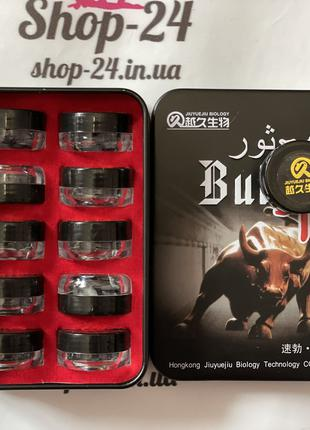 """Таблетки для повышения потенции Бык (15 шт) """"Bull"""