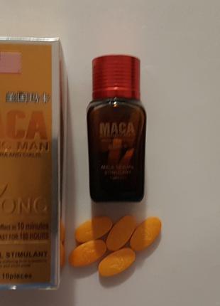 Maca Strongman Мака стронгмен для повышения потенции (таблетки...