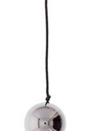 Вагинальные шарики DOMINO METALLIC BALLS, SILVER