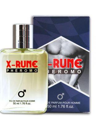 Духи с феромонами мужские Aurora X-rune, 50 мл