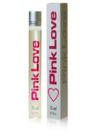 Духи с феромонами женские Aurora Pink Love, 15 мл