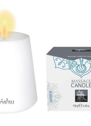 Массажная свеча SHIATSU Янтарь, 130 гр