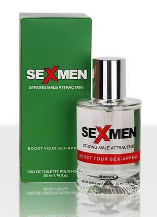 Духи с феромонами для мужчин Sexmen - Strong male attractant, ...