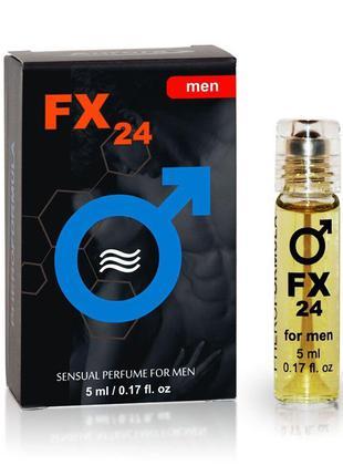 Духи с феромонами для мужчин FX24 AROMA for Men, 5 ml