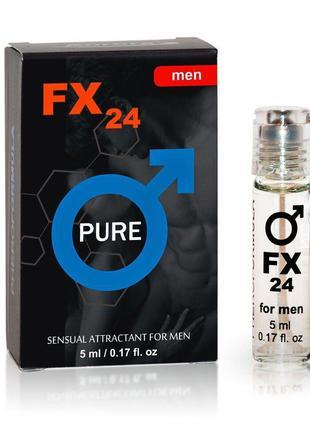 Феромонами без запаха для мужчин FX24 PURE for men, 5 ml