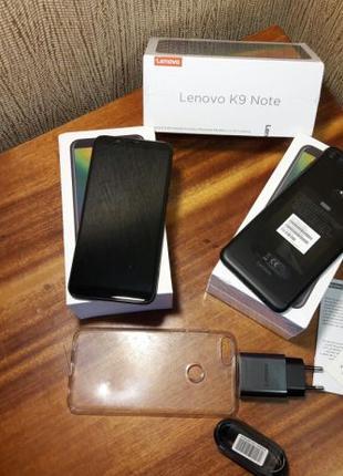 Смартфон LENOVO K9 NOTE Global 3/32 black новый без предоплаты...