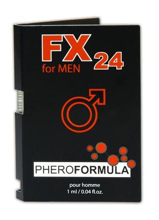 Духи с феромонами для мужчин FX24 for Men, 1 ml
