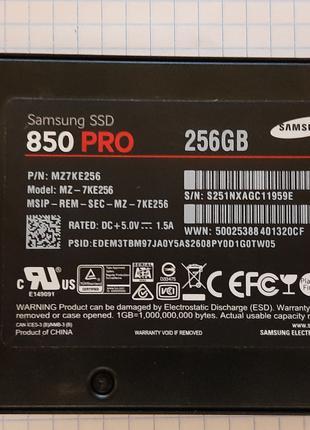 SSD Samsung 850 PRO 256Гб.