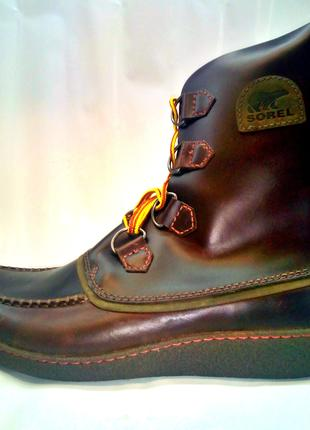 Мужские кожанные ботинки Sorel (Canada) 48р-р.