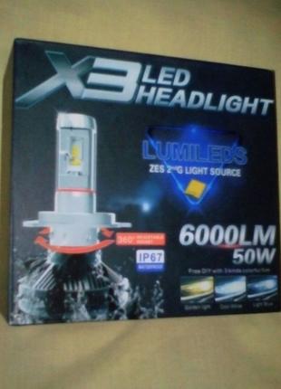 Led лампы Н7