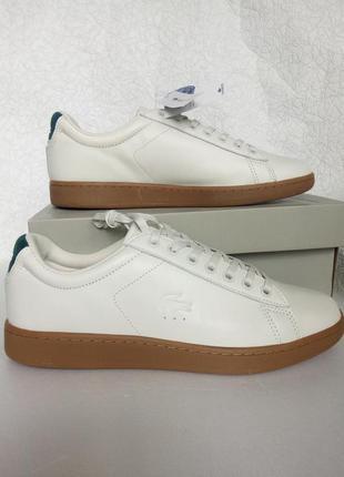 Кроссовки мужские sneakers lacoste carnaby evo 5 оригинал р 43