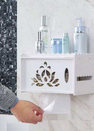 Подвесная шкафчик для бумаги и салфеток