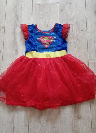 Плаття карнавальне супермен 5-6 років