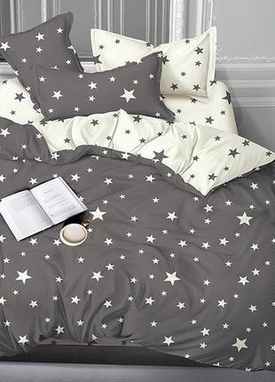 Постельное белье сатин-люкс звезды 100% хлопок