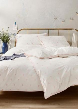 Нежное постельное белье, комплект 135х200 тсм tchibo
