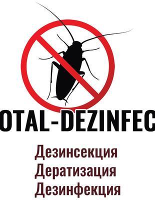 Дезинзекция от тараканов, клопов и тд. Дератизация. Дезинфекция.