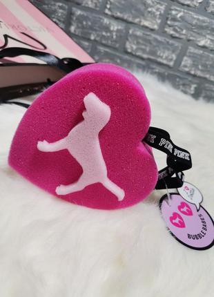 Губка (мочалка) для душа victoria's secret pink