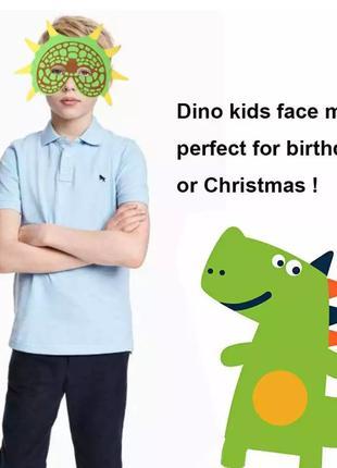 Детская маска для карнавала - размер 27*18см