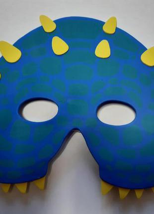 Детская карнавальная маска - размер 17*14см