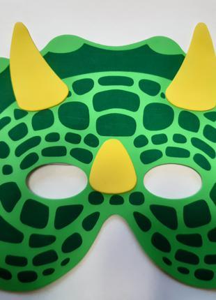 Детская маска на карнавал - размер 27*15см