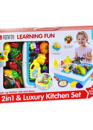 """Кухня с раковиной и набором посуды """"Kitchen Set"""" 35385"""