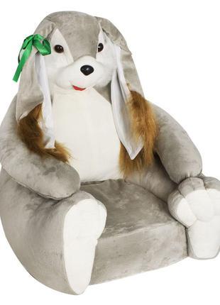 """Мягкое кресло """"Зайка""""Милое плюшевое кресло будет хорошим подар..."""