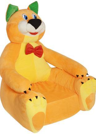 """Мягкое кресло """"Котик"""" Милое плюшевое кресло будет хорошим пода..."""