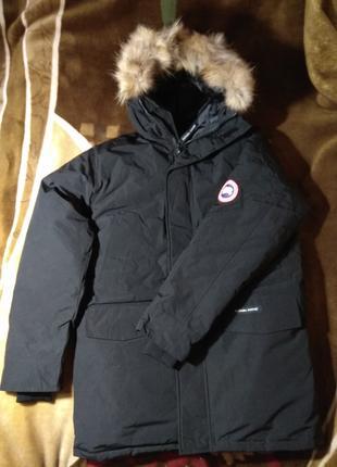 Куртка парка пуховик Canada Goose Langford Parka XL черная