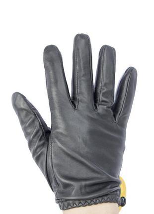 Осенние кожаные перчатки