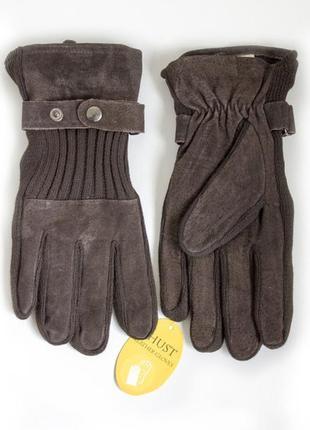 Мужские замшевые перчатки