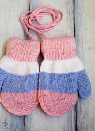 Детская теплая перчатка для модниц
