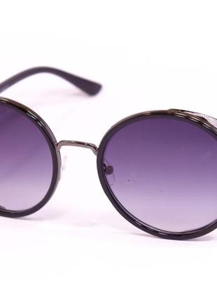 Солнцезащитные круглые очки палароид