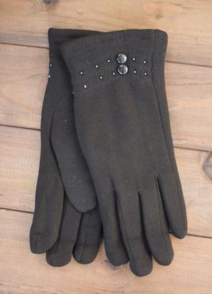 Стрейчевые перчатки кролик