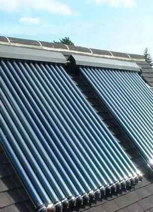 Солнечный коллектор. Коллекторная система отопления