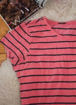 Плаття в полоску,  платье футболка