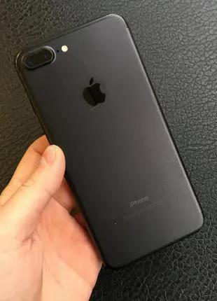 Apple iPhone 7 Plus (7+) Neverlock Matte Black 32Gb Б/У