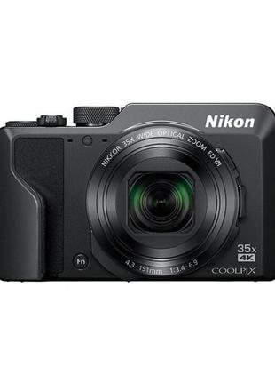 Цифровой фотоаппарат Nikon Coolpix A1000 Black (VQA080EA)