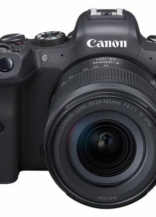 Цифровой фотоаппарат Canon EOS R6 24-105 STM RUK/SEE (4082C046AA)