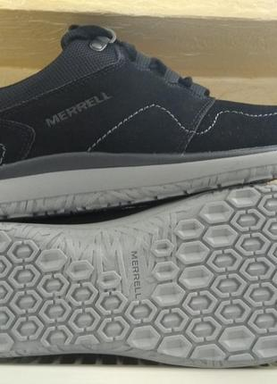 Кроссовки merrell getaway locksle lace leather blac оригинал! ...