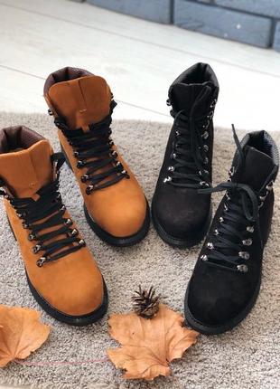 Lux обувь! качественные натуральные кожаные зимние ботинки на ...