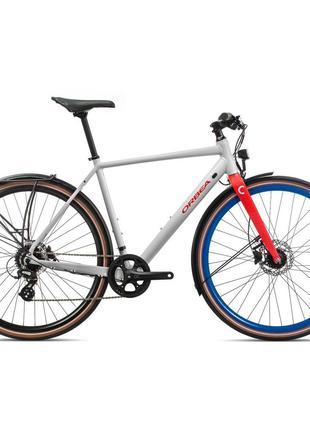 "Велосипед Orbea Carpe 28"" 25 2020 M White/Red (K40553QP)"