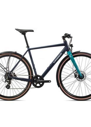 "Велосипед Orbea Carpe 28"" 25 2020 M Blue/Turquoise (K40553QS)"