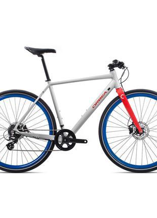 "Велосипед Orbea Carpe 28"" 30 2020 M White/Red (K40453QP)"
