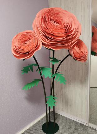 Цветы для фотосесси, ручной работы