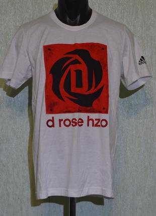 Футболка adidas all in for derrick rose tee g88784 casual