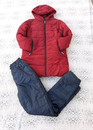 Зимний спортивный костюм