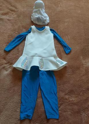 Костюм гномика для девочки / карнавальный костюм