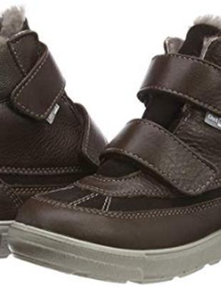 Зимние кожаные ботинки ricosta с мебраной, германия