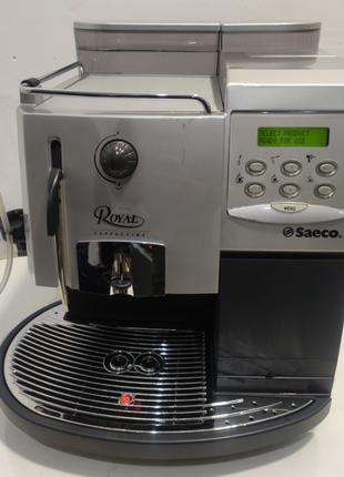 Saeco Royal Cappuccino 2014 год кавоварка кофемашина